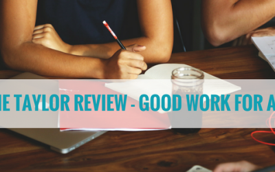 The Taylor Review – Good Work for All