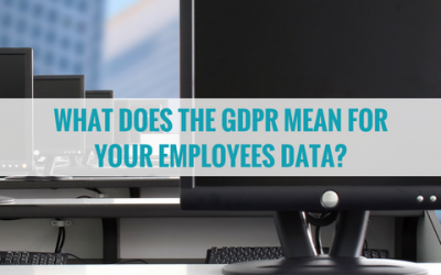 What Does the GDPR Mean for Your Employees' Data?