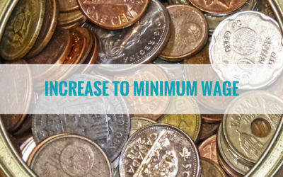 Increase to National Minimum Wage Rates