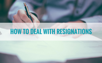 How to Deal with Resignations