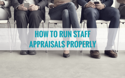 How to Run Appraisals Properly