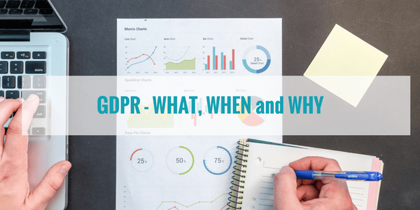 GDPR – What, When and Why