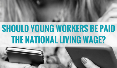 Should young workers be paid the National Living Wage?