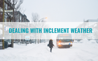 Dealing with Inclement Weather